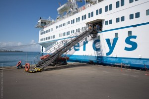 Gangway of the Africa Mercy